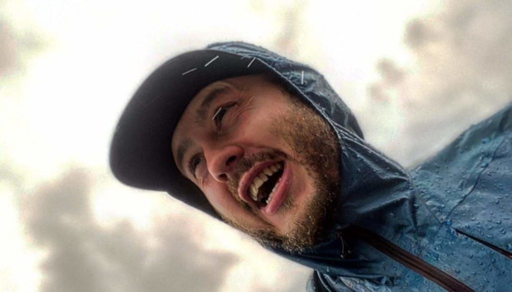 Oly Run4yourmind running in the rain